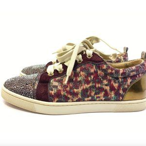 Christian Louboutin Junior Strass Sneakers 35.5